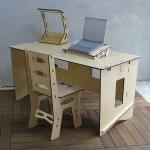scrivania moderna; scrivania in legno; scrivania ecolgica